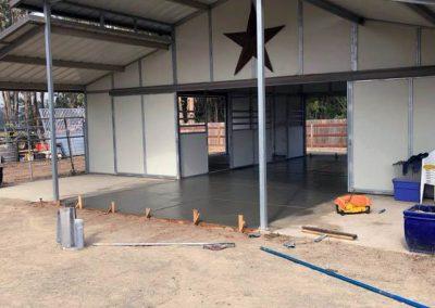 Concrete Barn Floor 01