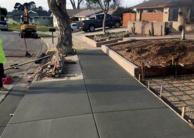 Concrete Sidewalk 03