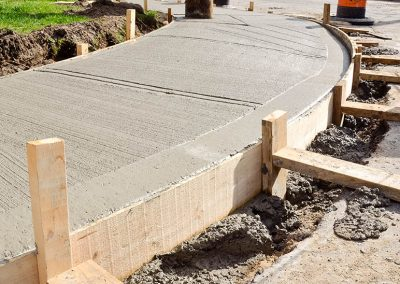 Concrete Sidewalk 07